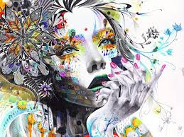rostro mujer arte wallpapers hd