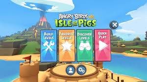 Angry Birds VR: Isle Of Pigs Level Editor Updated With Online Sharing