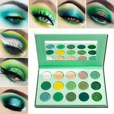 green eyeshadow palette matte and