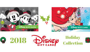 disney gift card character collection