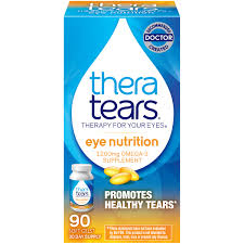 2 pack theratears eye nutrition omega