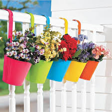 Latest Hanging Flower Pots Ideas For Small Balcony The Architecture Designs
