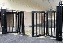 Accordion Gate Google Search Driveway Gate Diy Door Gate Design Front Gate Design
