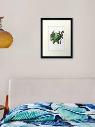 Nature S Prophet Dota 2 Framed Art Print By Rahulbitz Redbubble