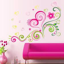 Love Flower Rattan Removable Vinyl Decal Wall Sticker Art Mural Diy Room Decor Flower Wall Stickers Wall Decor Stickers Wall Stickers Murals
