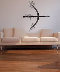 Vinyl Wall Decal Sticker Intricate Bow And Arrow Os Dc535 Stickerbrand