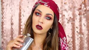 2020 pirate halloween makeup tutorial