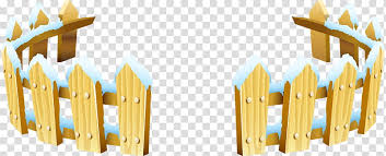 Wooden Fence Cartoon Yard Snow Japanese Cartoon House Wooden Block Transparent Background Png Clipart Pngguru