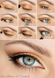 eye makeup for blue grey eyes and