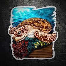 Sticker Sea Turtle Muraldecal Com