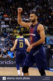 Hungarian Adam Hanga of F.C. Barcelona Lassa celebrates a basket Stock  Photo - Alamy