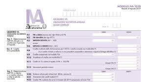 Quadro VL dichiarazione IVA 2020: istruzioni - Fiscomania