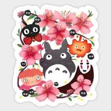 Ghibli Miyazaki Spirits Totoro Ponyo Jiji Vinyl Decal