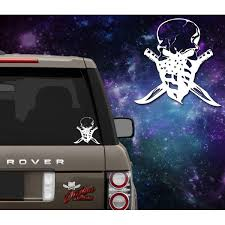 Patriot Skull Decal Outlaw Decals