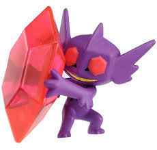 Takaratomy Official X & Y Sp-35 Mega Sableye Pokemon Action Figure ...