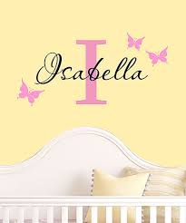 Davis Vinyl Designs Pink Black Butterfly Personalized Decal Best Price And Reviews Zulily