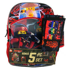 Kids Lego Ninjago Backpack, Lunchbox, Cinch Sack, Pencil Case ...