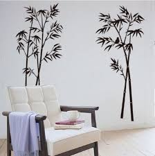 Black Bamboo Wall Stickers Wall Decals For Living Room Study Room Oxlyn Wish