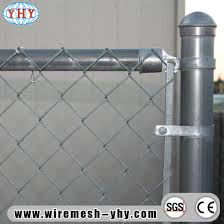 China Wholesale 5ft Hot Dipped Galvanized Chain Link Fence With Fence Post China Chainlink Fence Temporary Fence