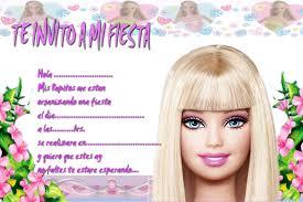 Tarjetas De Cumpleanos Para Imprimir Barbie