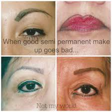 best permanent makeup gone wrong for
