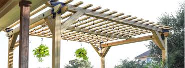 5 free pergola plans plus pavilions