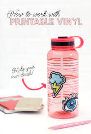 How To Work With Printable Vinyl Diy Vinyl Stickers Persia Lou