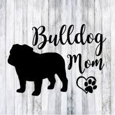 Dog Wall Art Bull Mom Car Window Decal Poshmark