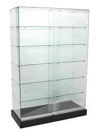 deluxe frameless glass display