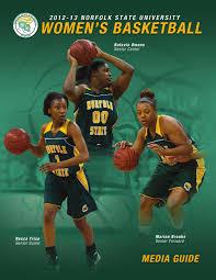 2012-13 Norfolk State Women's Basketball Media Guide by Matt Michalec -  issuu