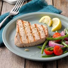 Garlic Herbed Grilled Tuna Steaks ...