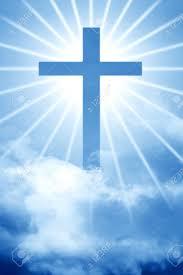 Dieu Du Ciel Croix Belle Scène Sainte Banque D'Images Et Photos ...
