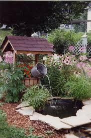 wishing well garden