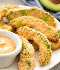 keto avocado fries air fryer or baked
