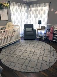 Best Round Rugs For Baby Nursery