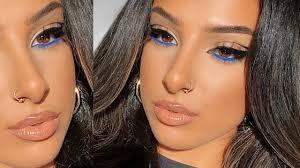 insram glam makeup hair