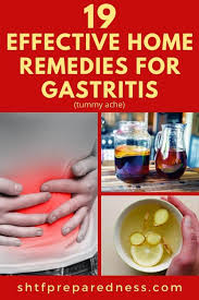 home remes for gastritis