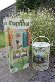 Cuprinol Spray And Brush For Fences And Sheds Love Chic Living