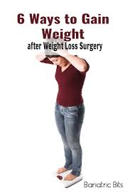 weight gain after weight loss surgery