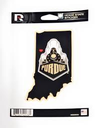 Purdue Boilermakers Home State Sticker Vinyl Die Cut Decal Auto Home University Ebay
