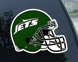 New York Jets Decal Etsy