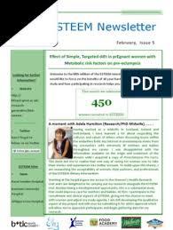 ESTEEM February Newsletter   Midwife   Health Economics