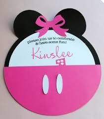 Minnie Mouse Invitations Cumpleanos Minnie Cumpleanos Tarjetas