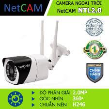 Chỉ 629,100đ Camera IP Wifi giám sát ngoài trời NetCAM NTL2.0