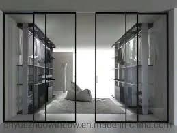 china slim frame aluminium sliding door