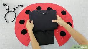 how to make a ladybug costume with