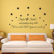 Snips And Snails Puppy Dog Tails Boys Are Made Of Wall Decals