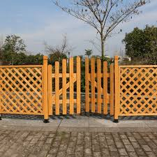Buy Grid Partition Doors Fence Mesh Fence Wood Fence Flower Garden Fence Climbing Frame Walls Protective Isolation In Cheap Price On Alibaba Com
