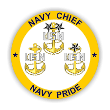 Usn Navy Chief Navy Pride Vinyl Die Cut Decal Sticker