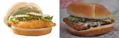 which fast food fish sandwiches are